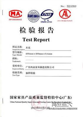 鉸鏈檢驗報告