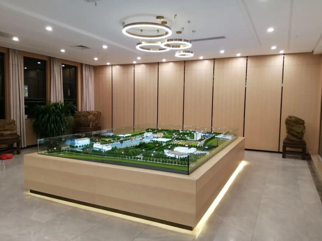 鴻業家具集團沙盤模型