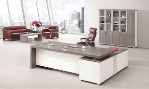 銀鬆木辦公桌 H70-0166