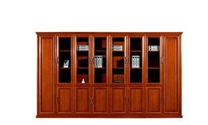 八門書櫃文件櫃 實木辦公文件櫃HY-C1608