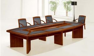 胡桃木會議桌HY-A3038