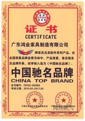 中國馳名品牌