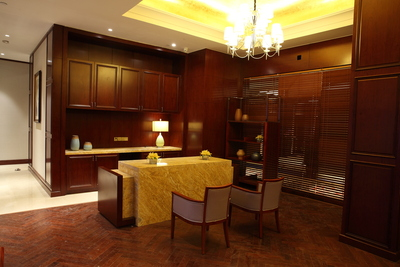 豪華套房廚房區