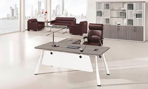 銀鬆木老板桌 H70-0170